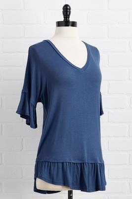 easy to v-neck top