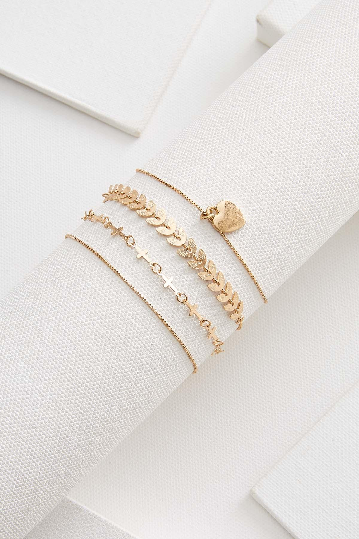 Cutesy Charm Bracelet Set