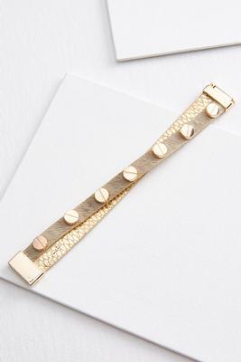 metal stud bracelet
