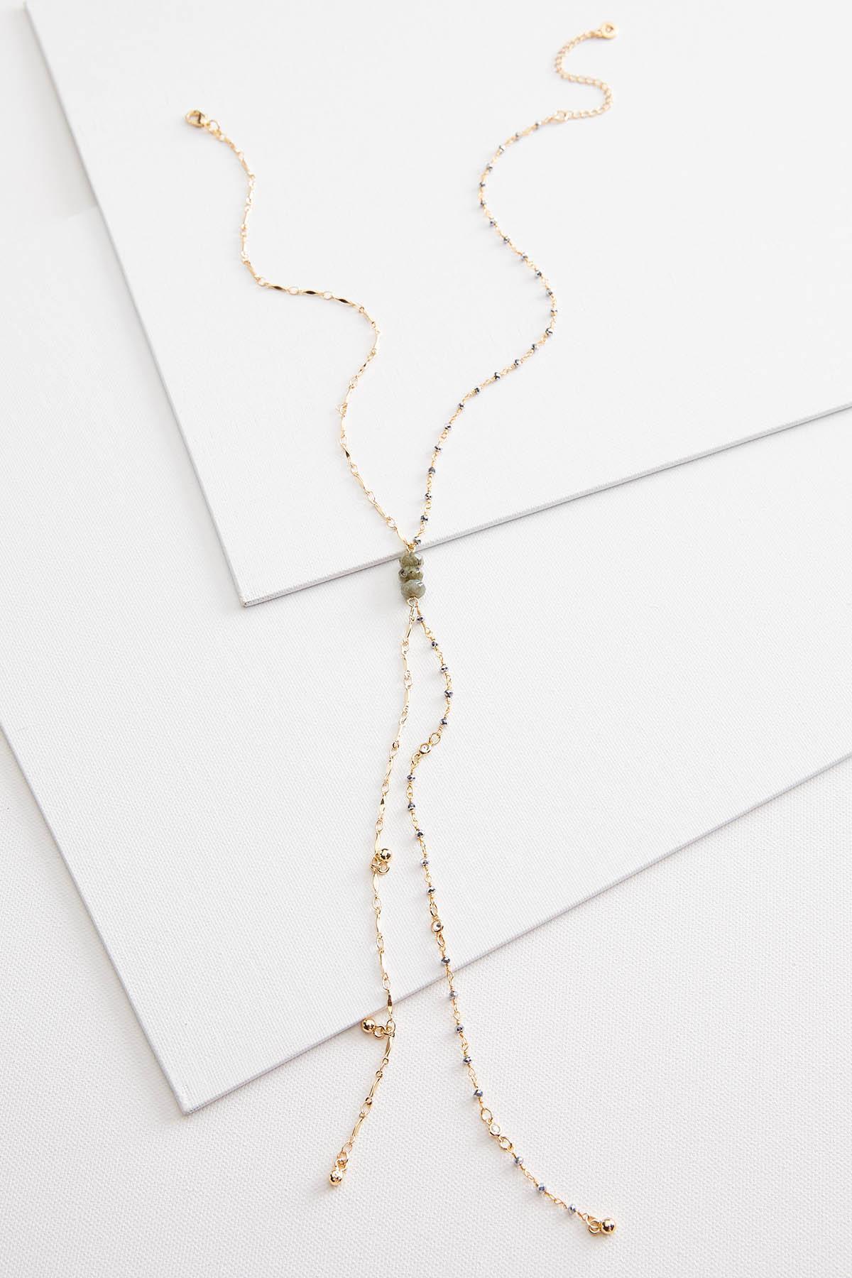 Delicate Y Necklace