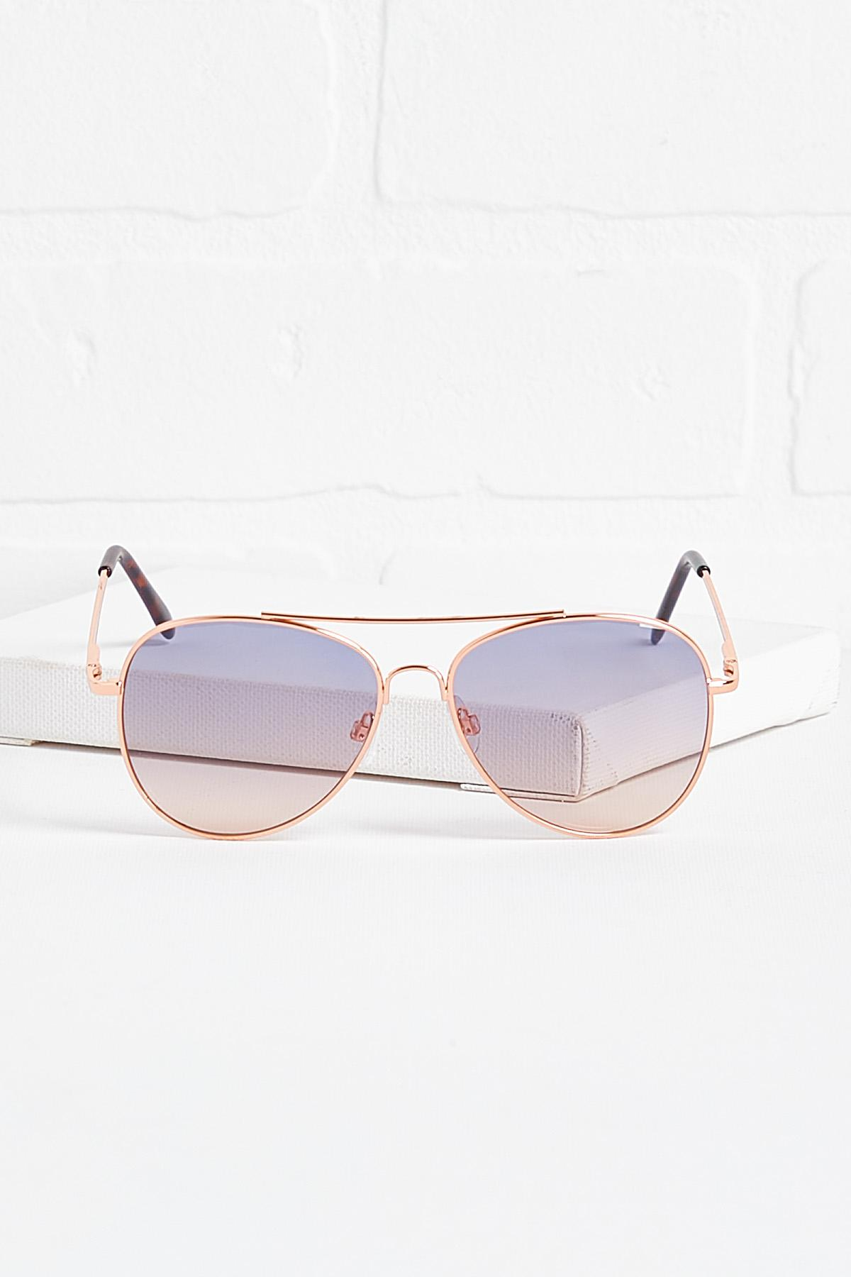 Blue Sunset Sunglasses