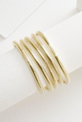 glitter buggin bangle set