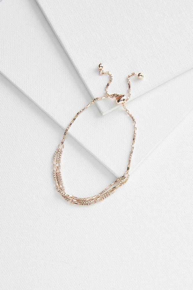 Textured Chain Bracelet