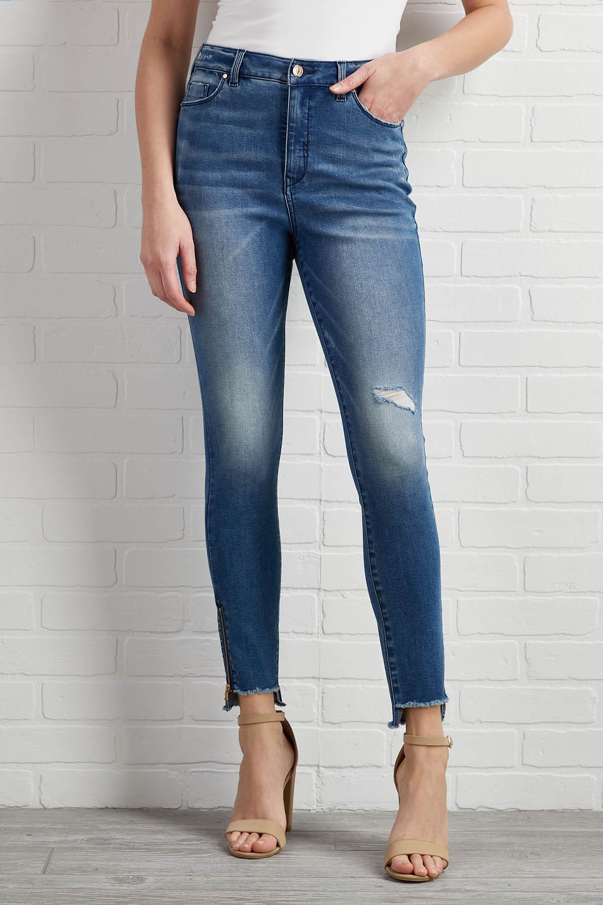 Distress Relief Jeans