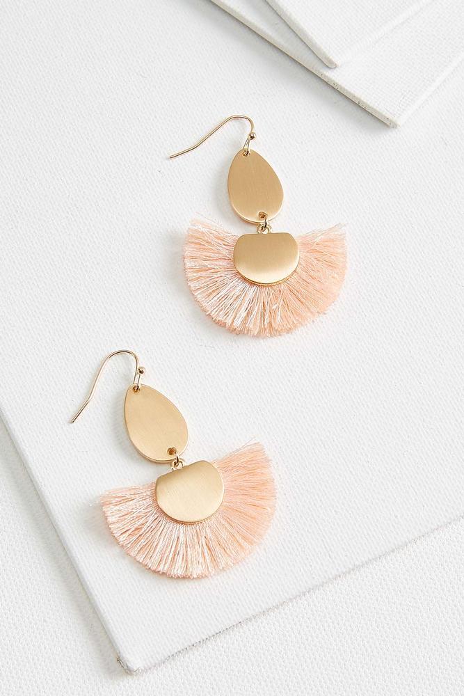 Fringed Fan Earrings