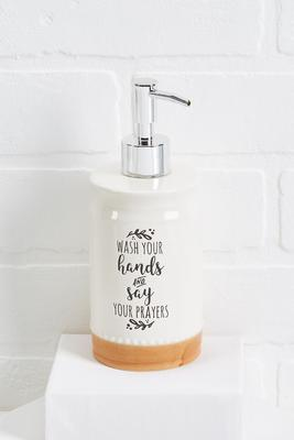 inspirational soap dispenser