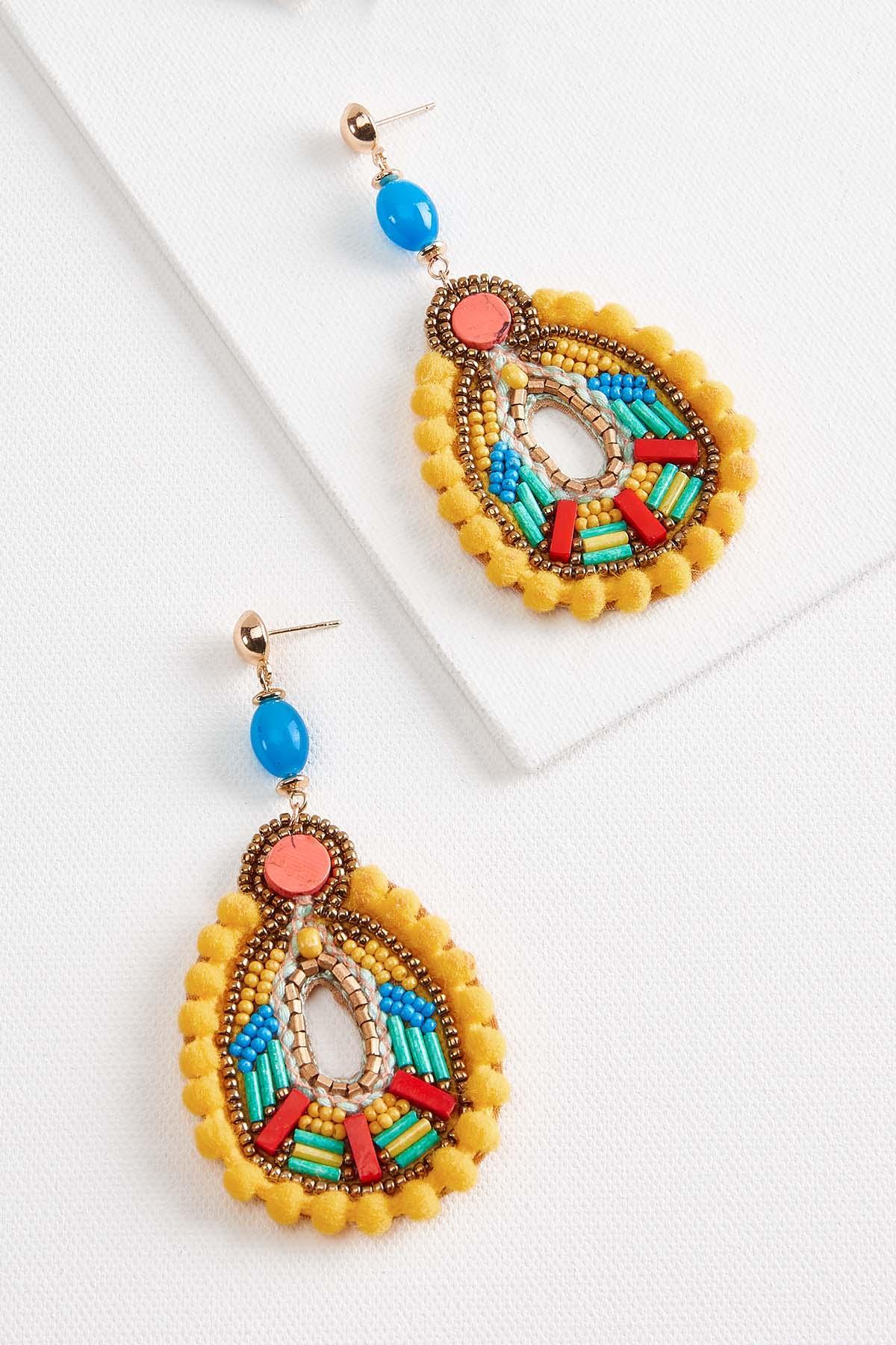 Fiesta Bead Earrings