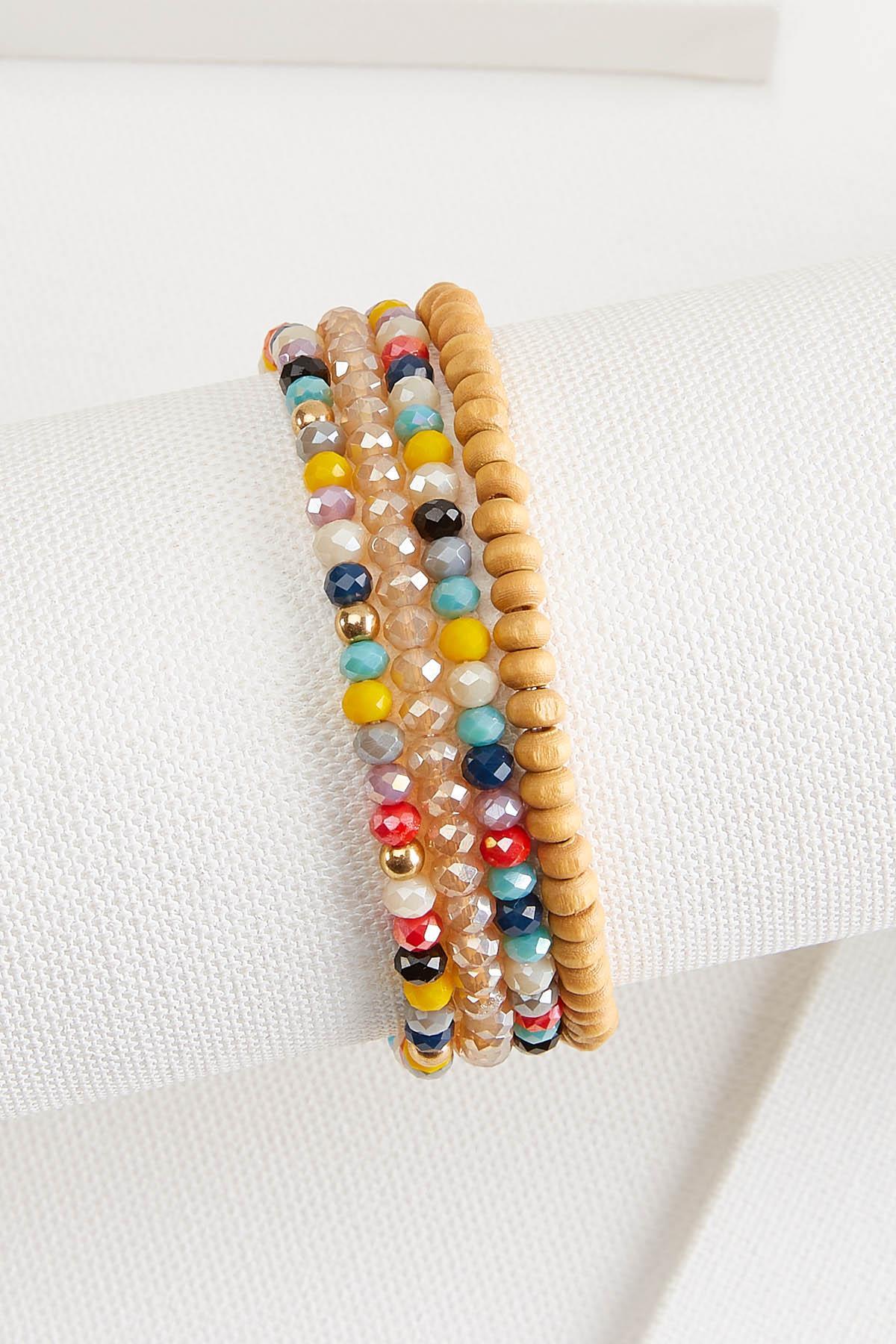 Mother Earth Stretch Bracelet Set