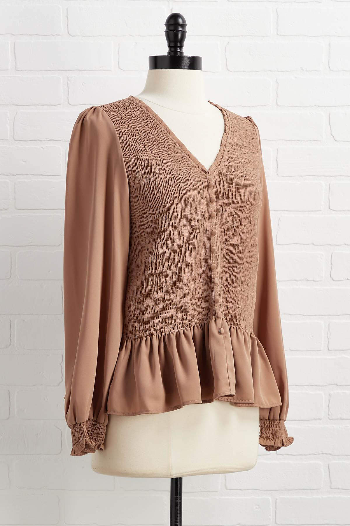 For The Frill Top