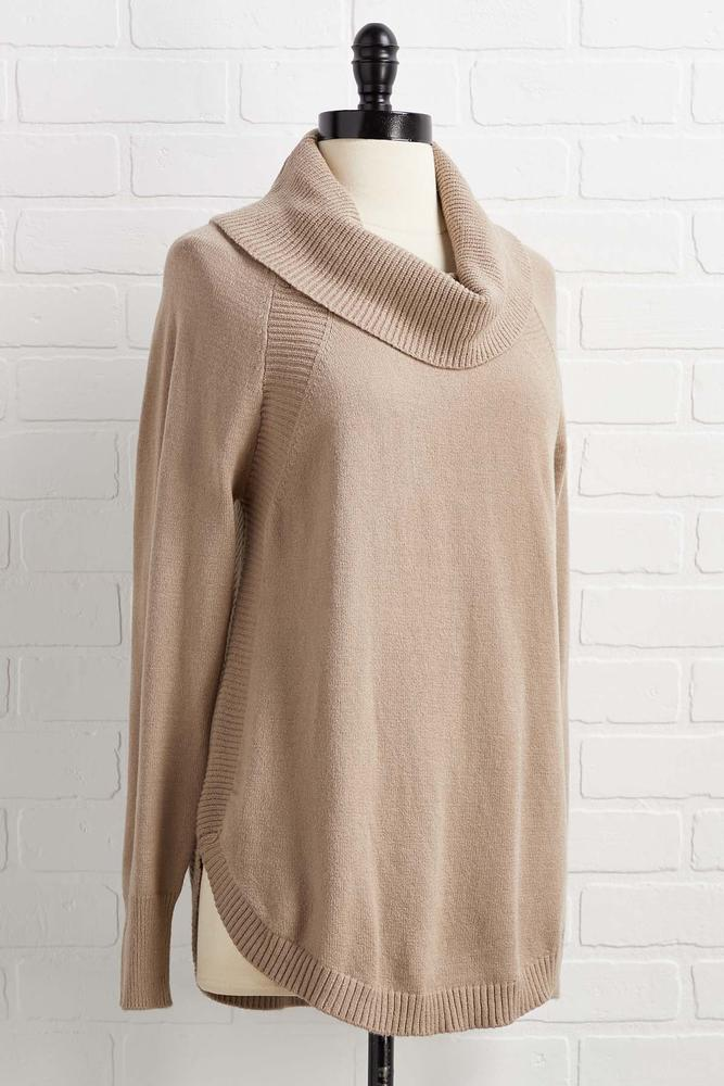 Getting Comfortable Sweater