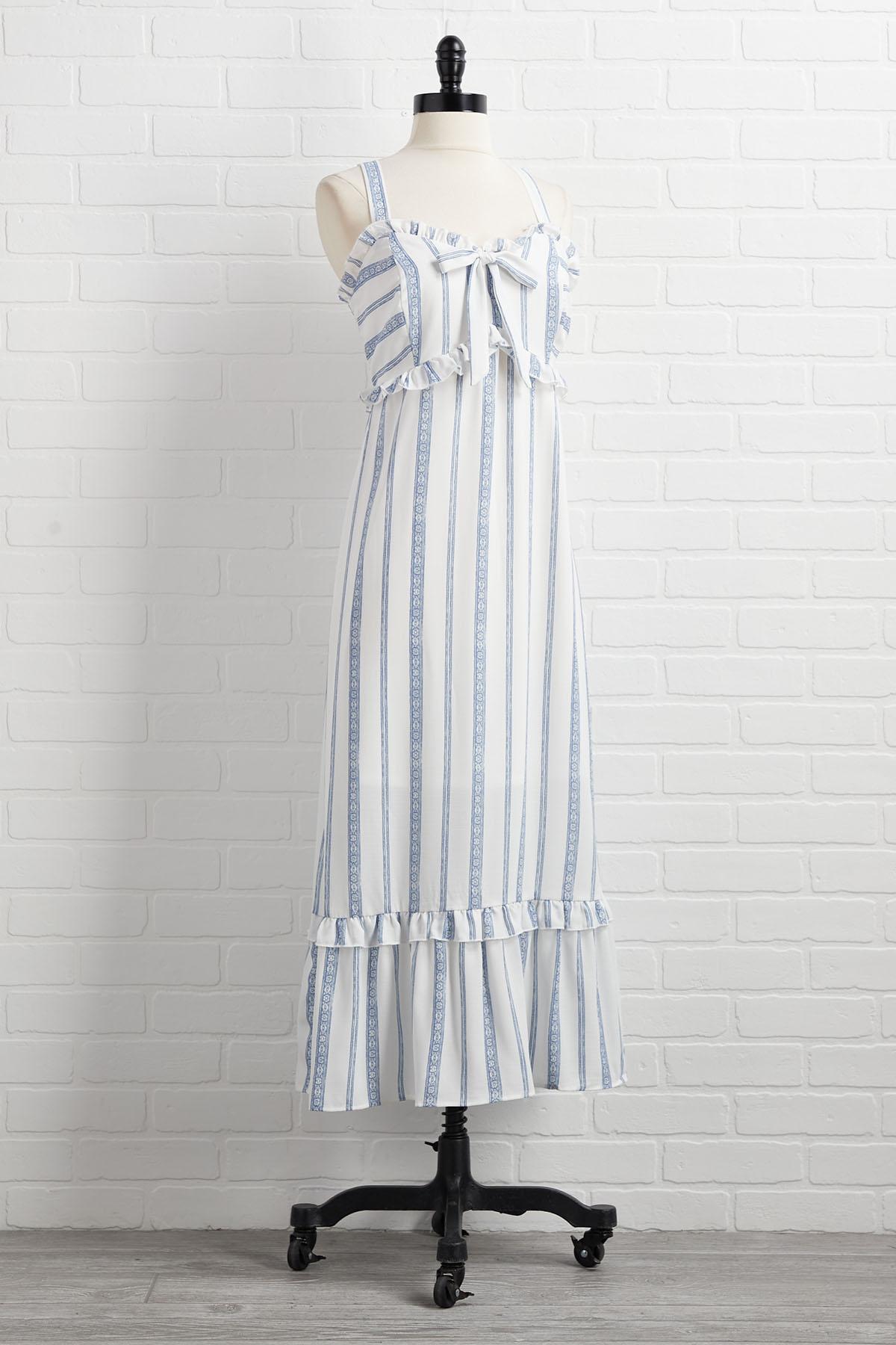 Nautical Me Maybe Dress