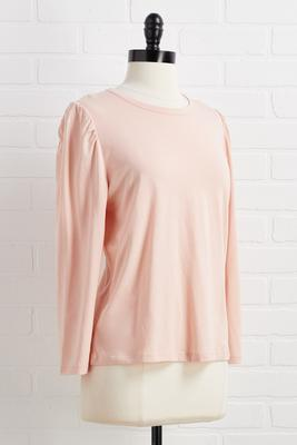 all the right puff top