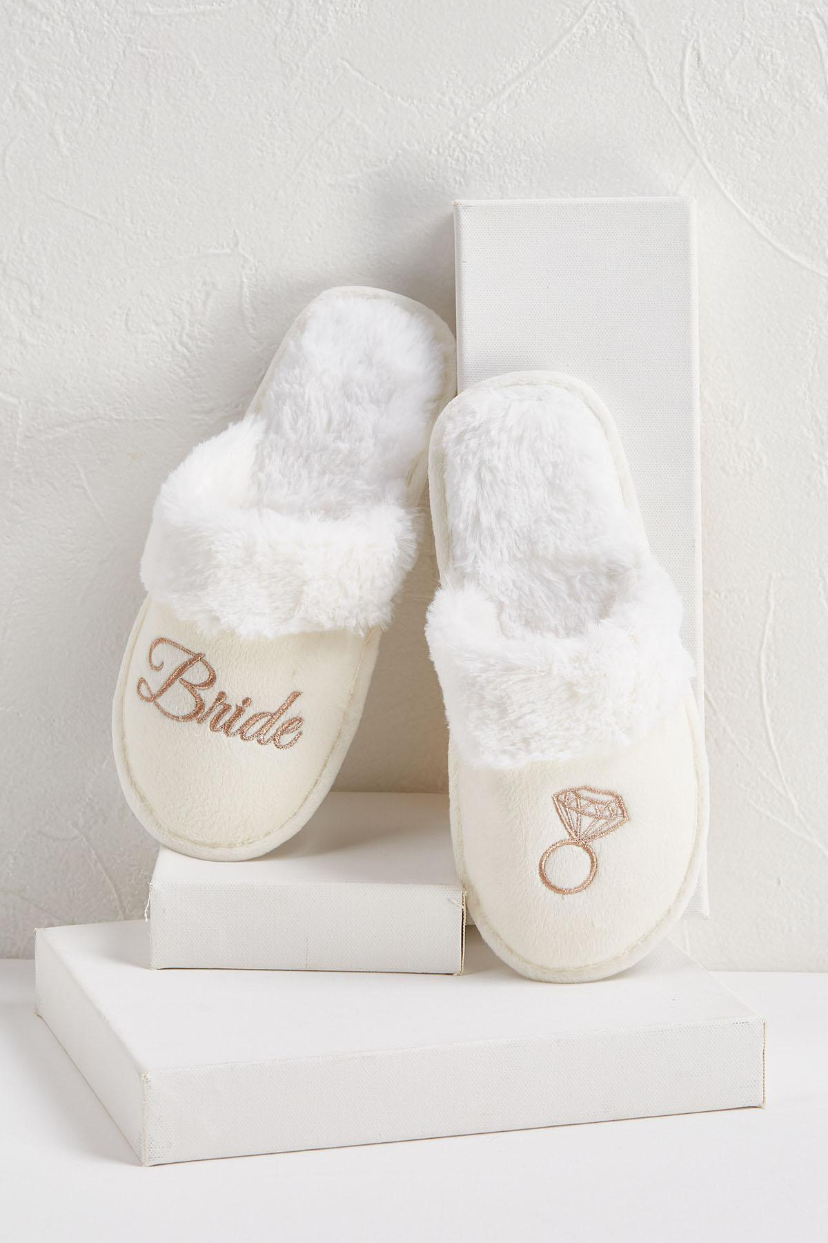 Cozy Bridal Slippers
