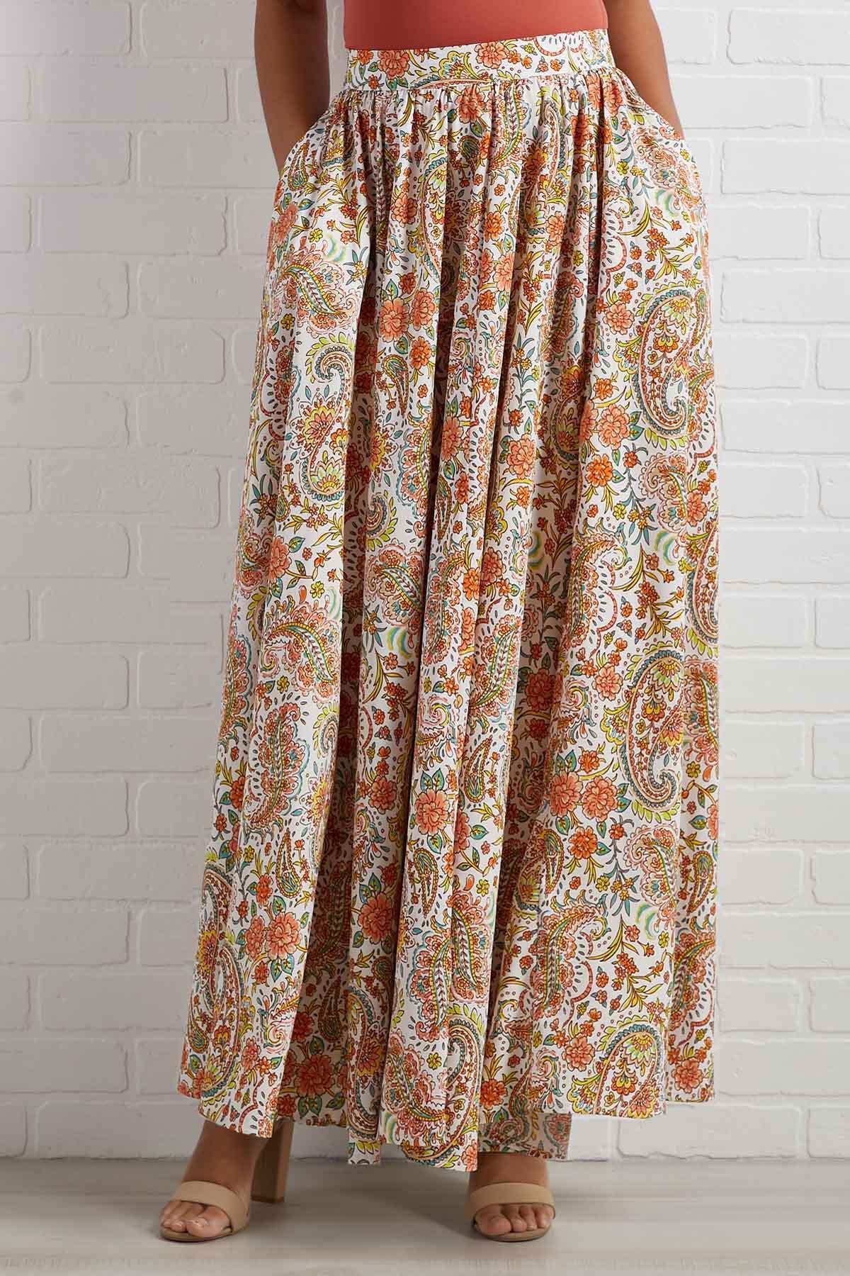 Paisley In Love Skirt