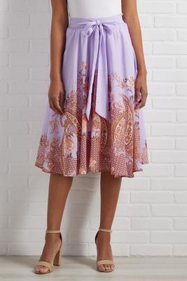 folklore midi skirt