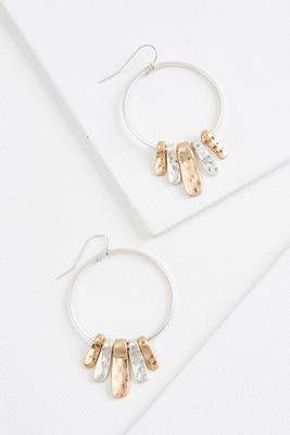 shaky hoop earrings