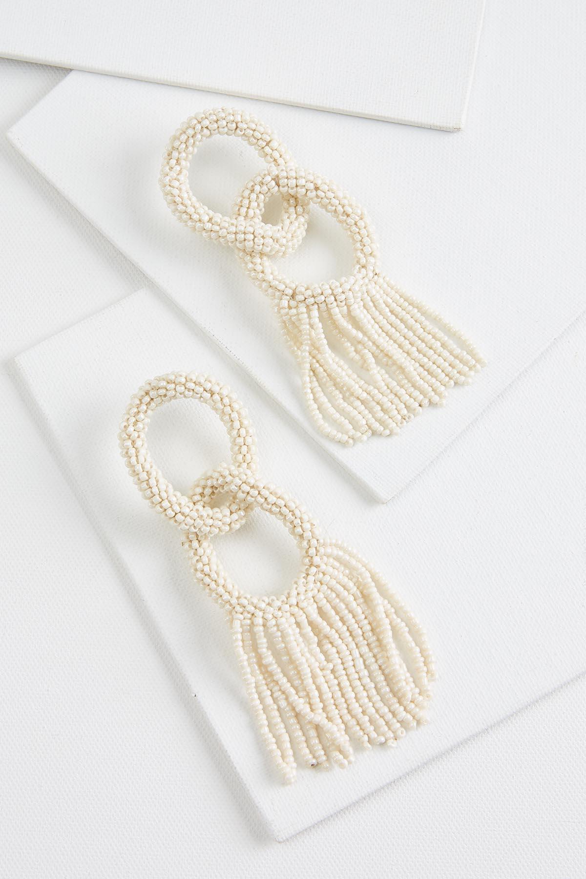 Pearl Link Earrings
