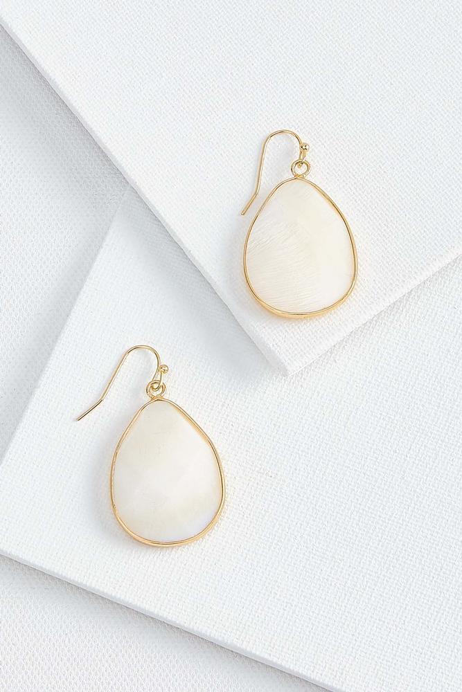 Stone Tear Earrings