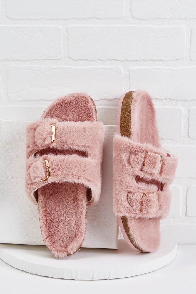 In Fur A Treat Sandals