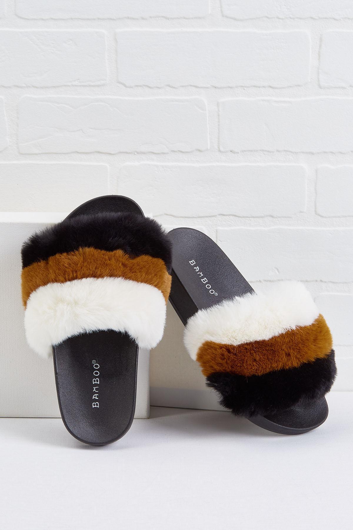 Neopolitan Furry Slides