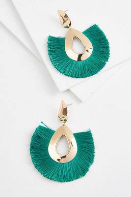 tears and tassels earrings