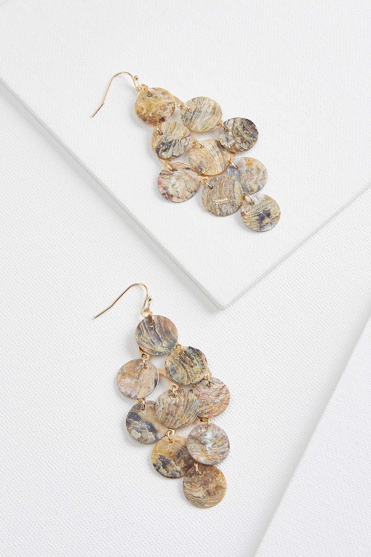 Shaky Shell Earrings