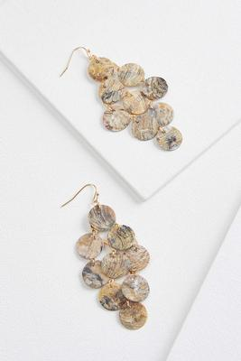 shaky shell earrings