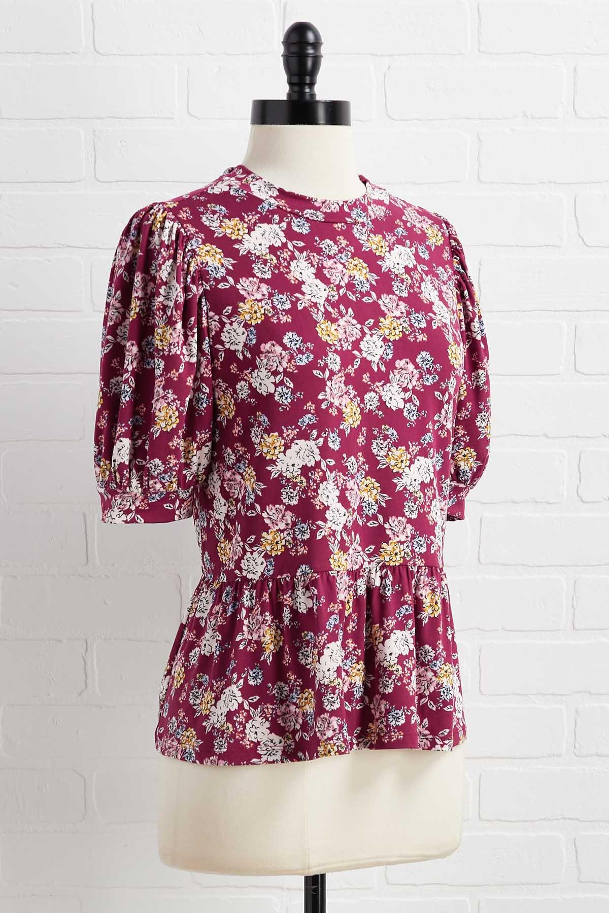 Floral Or Nothing Top