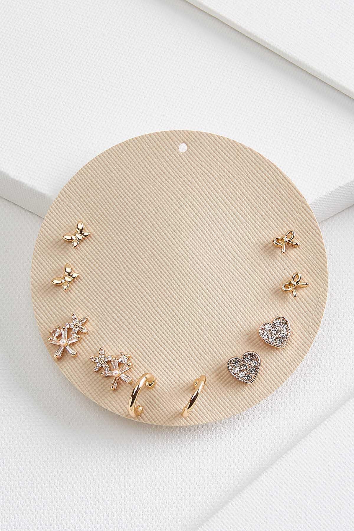 Floral Earrings Set