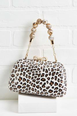 lovely leopard purse