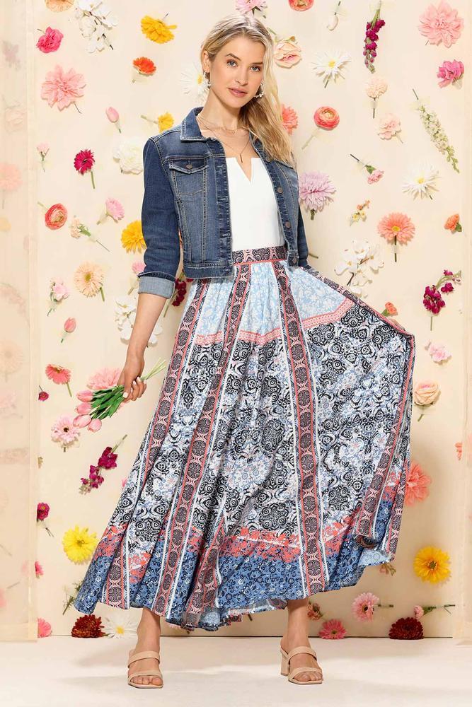 My Mind On Sunshine Skirt