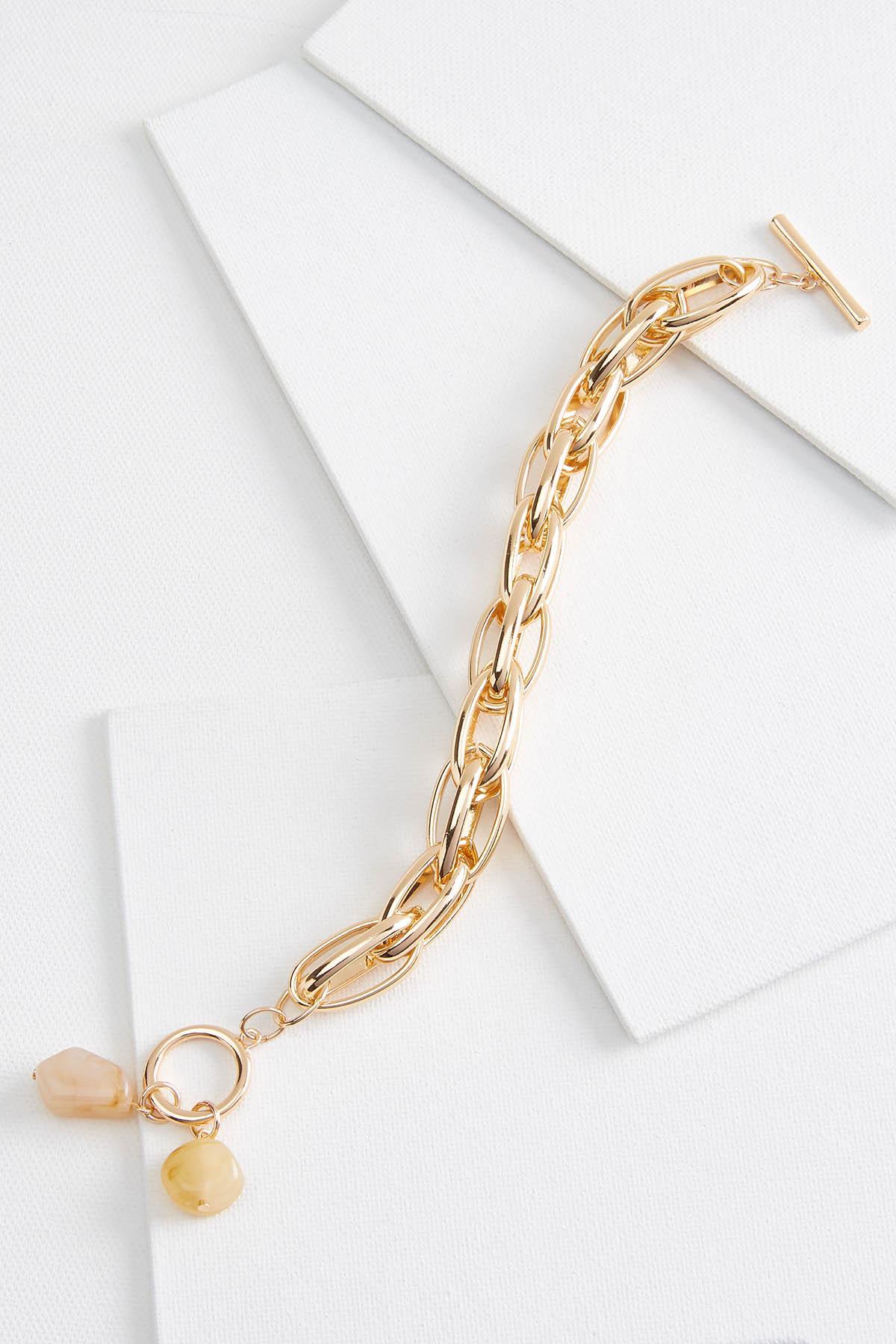 Chain Link Charm Bracelet
