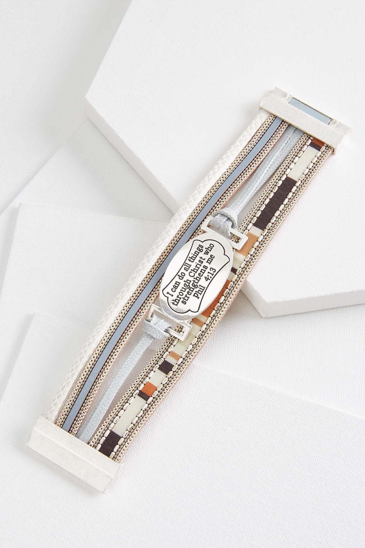 Inspirational Verse Bracelet