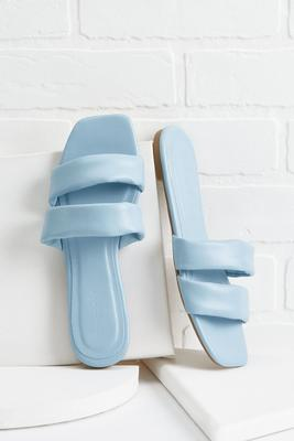 nothing but blue skies sandals