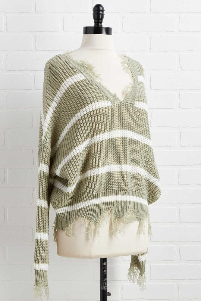 Distressed Out Sweater
