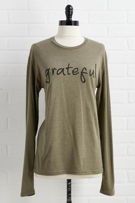 grateful top