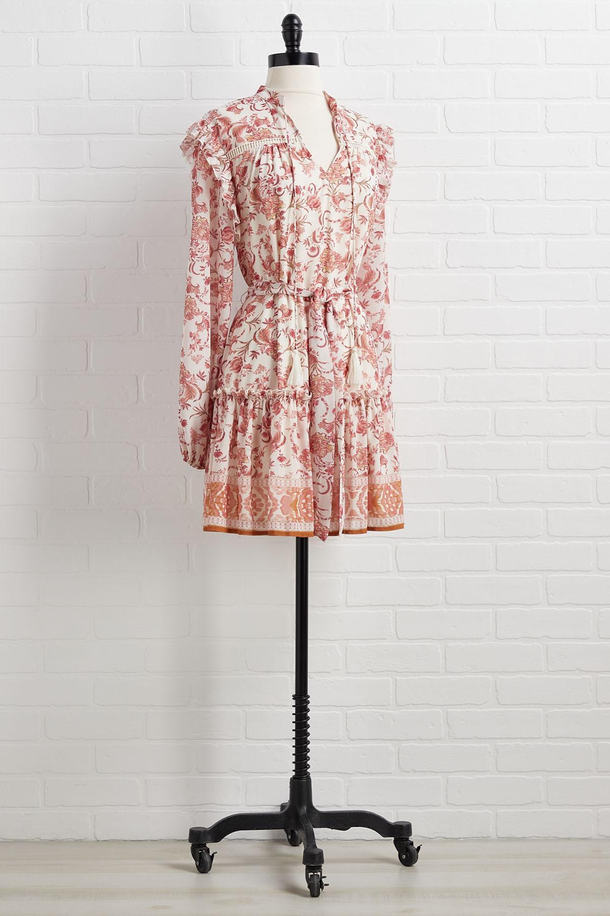 Use The Budding System Dress