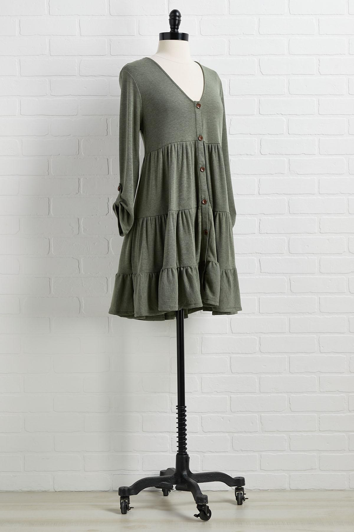 Olive This Time Of Year Dress