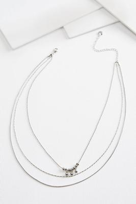 dainty chain necklace