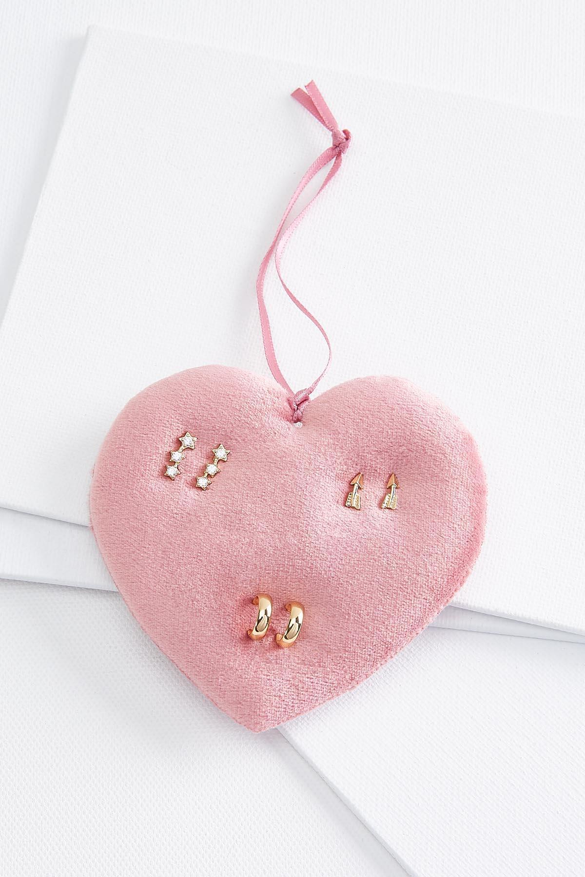 Dainty Gold Earring Set