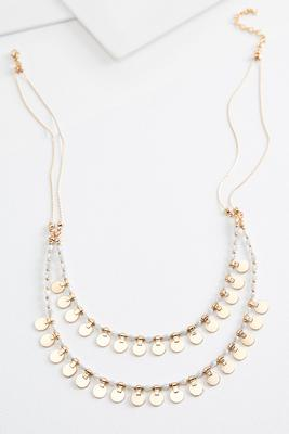 layered shaky necklace
