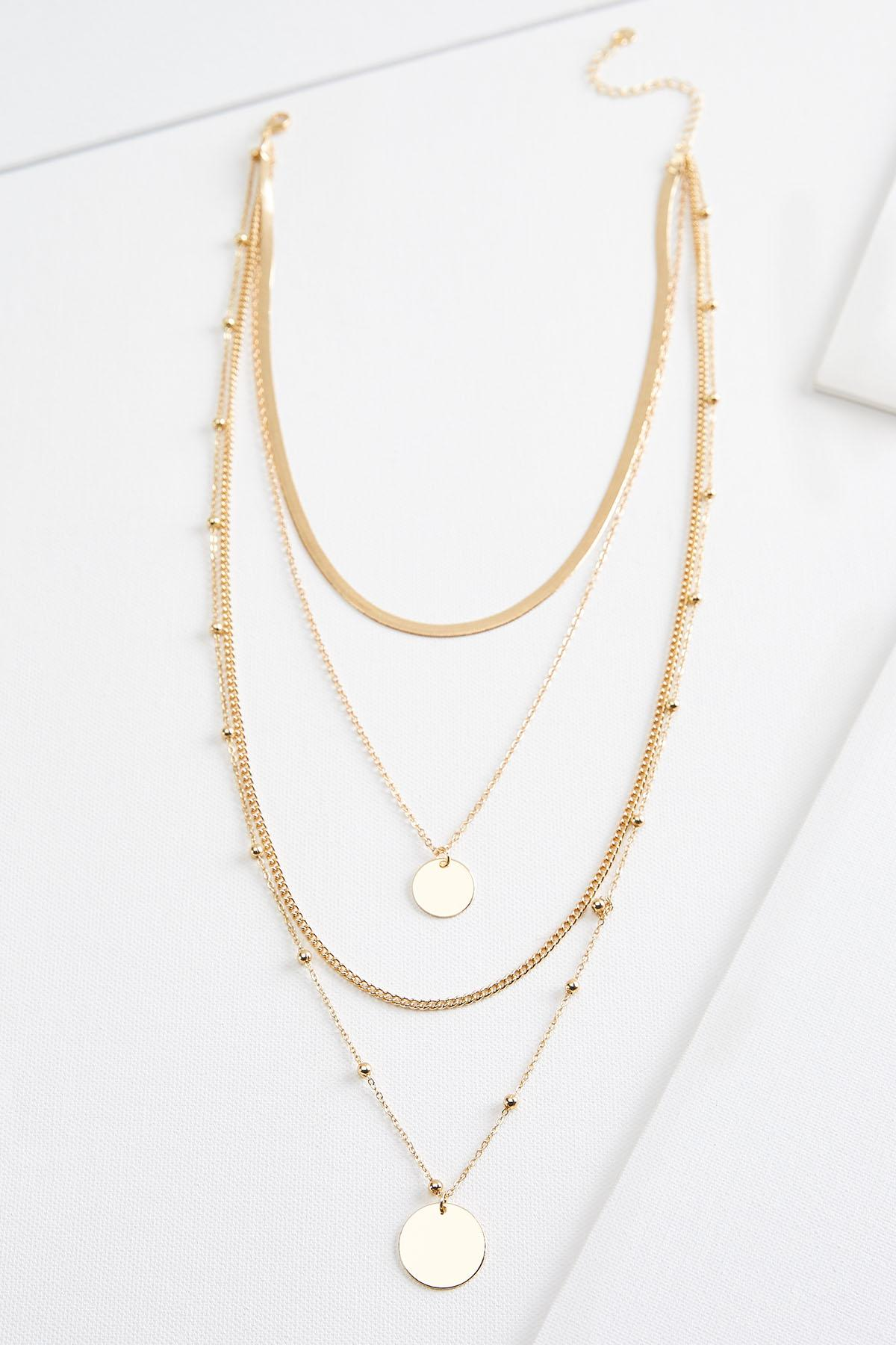 Classic Chain Necklace Set