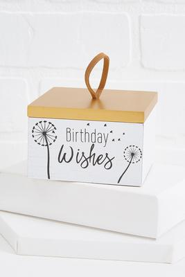 birthday wishes box