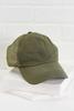 Olive Ponytail Hat