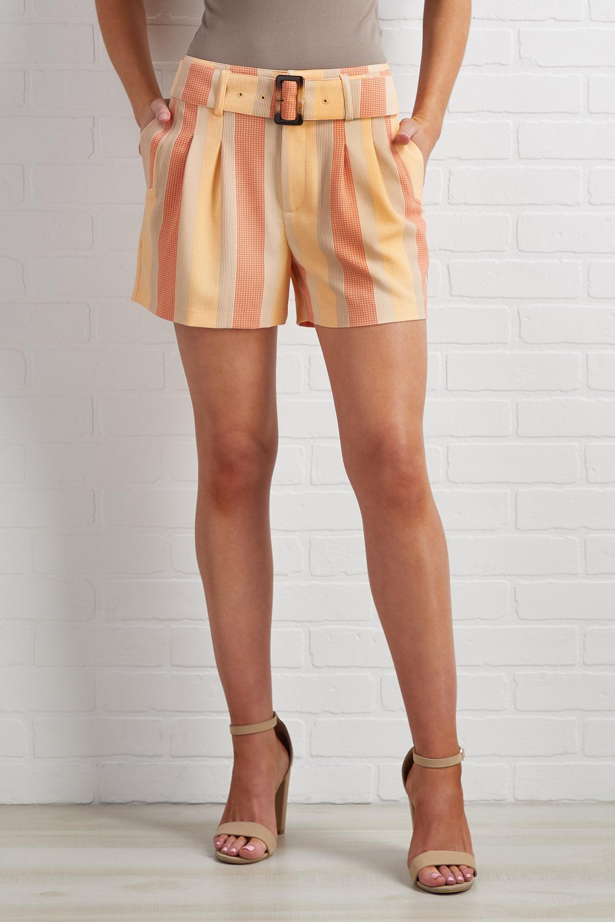 Sunrise Striped Shorts