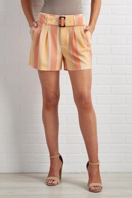 sunrise striped shorts