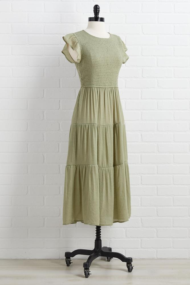 Time To Go Green Dress