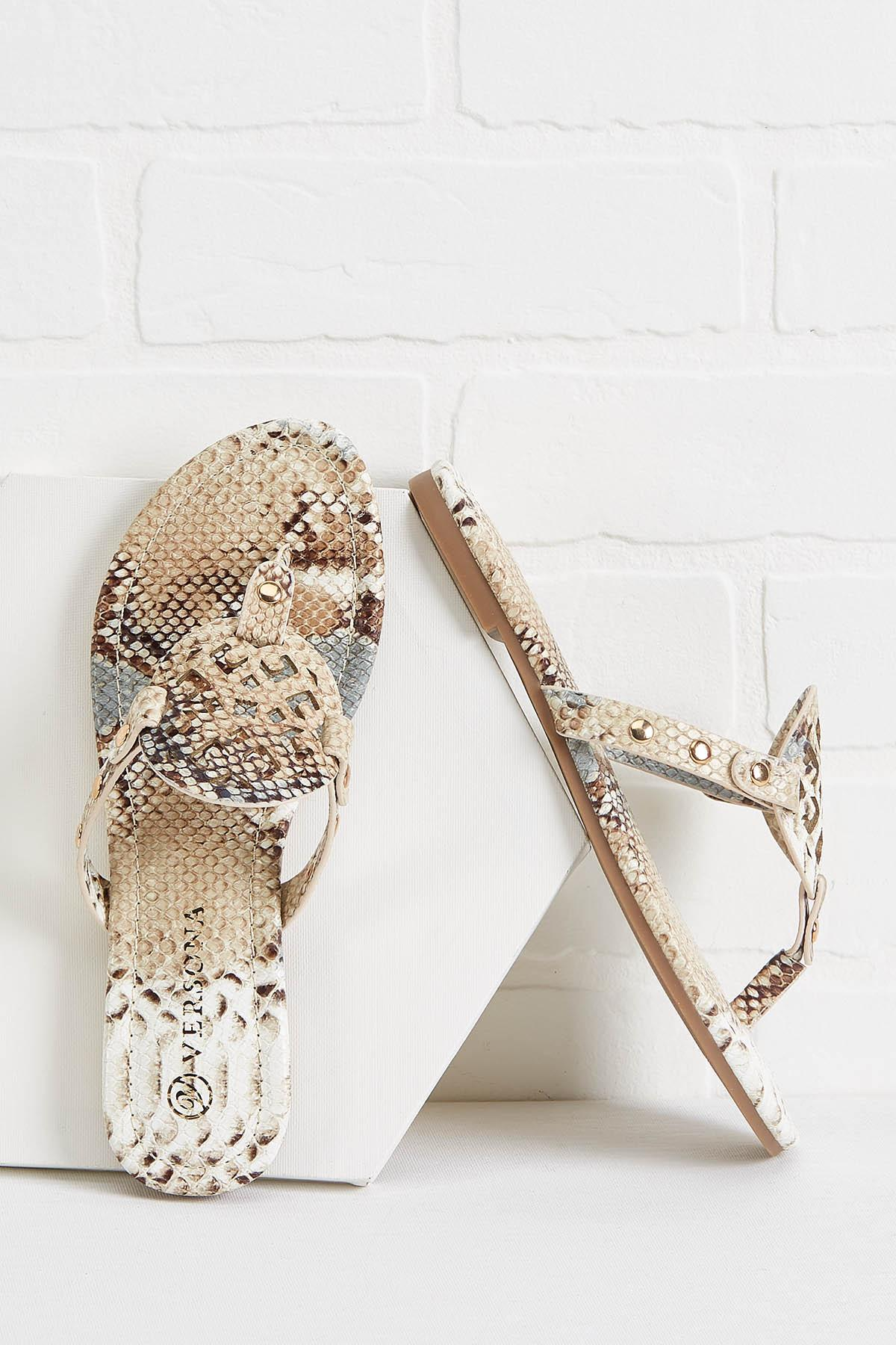 Comfortable In Your Skin Sandals