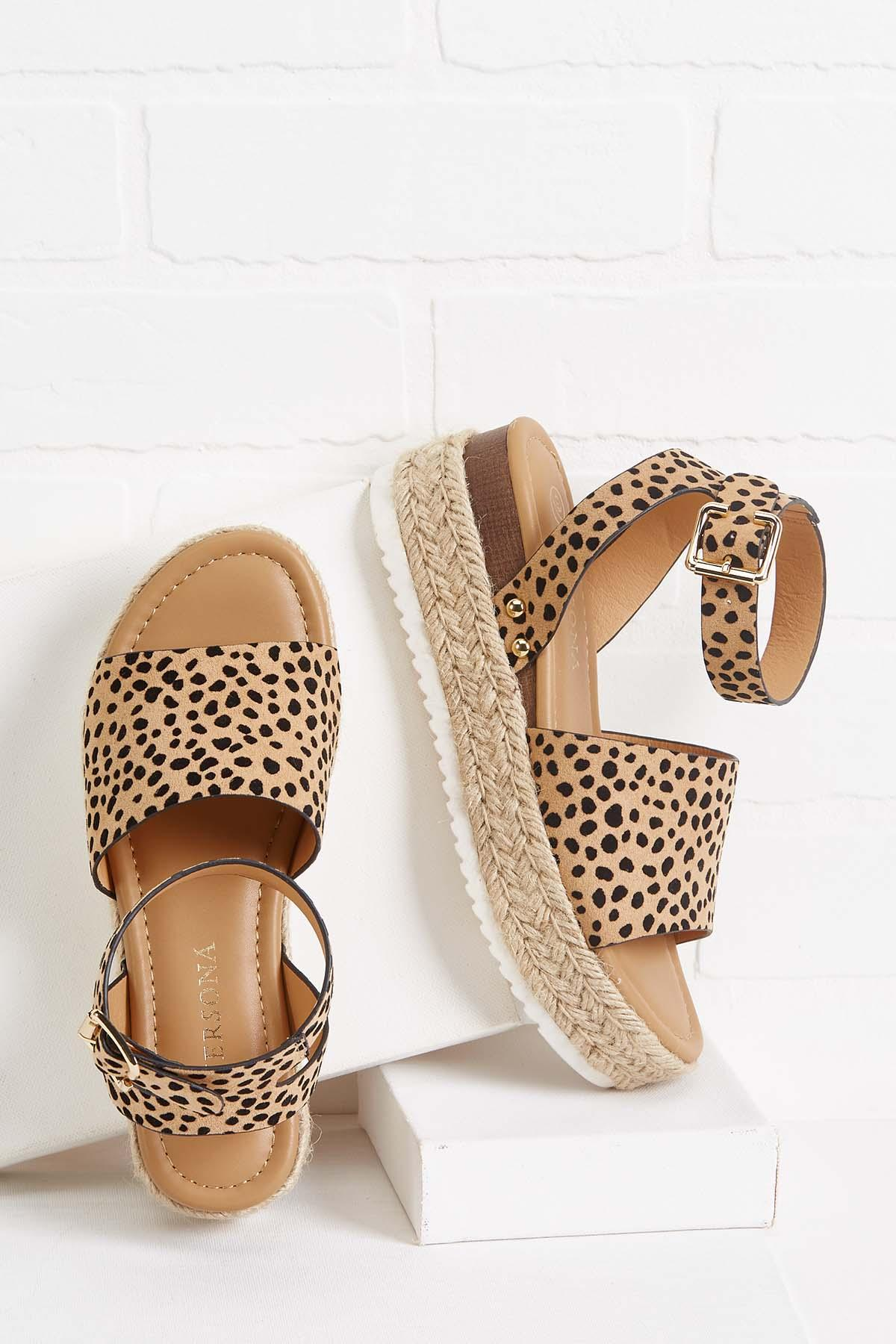 Cheetah Sisters Flatforms