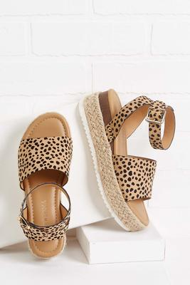 cheetah sisters flatforms